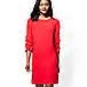 NY&Co NWT Red XXL Ruffle Sleeve Shift Dress